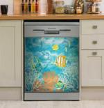 Marine Under The Sea Dishwasher Cover Sticker Kitchen Decoration