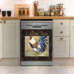 Proud Rooster Calendar Chicken Dishwasher Cover Sticker Kitchen Decor