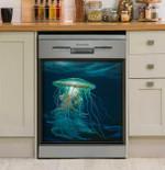 Make Light Bioluminescence Dishwasher Cover Sticker Kitchen Decor