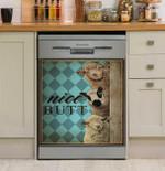 Nice Butt Mint Sheep Dishwasher Cover Sticker Kitchen Decor