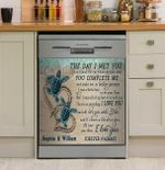 Sea Turtle The Day I Met You Dishwasher Cover Sticker Kitchen Decor