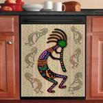 Naitve American Kokopeli Rainbow Dishwasher Cover Sticker Kitchen Decor