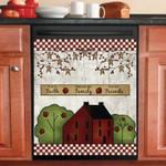 Primitive Country Apple Hill Farm Dishwasher Cover Sticker Kitchen Decor
