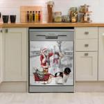 Newfie Snow Dishwasher Cover Sticker Kitchen Decor