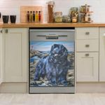 Newfoundland Dog Fine Dishwasher Cover Sticker Kitchen Decor