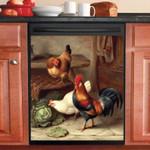 Life Of The Farm Animals Dishwasher Cover Sticker Kitchen Decor