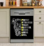 Pit Bull Dignity Dishwasher Cover Sticker Kitchen Decor