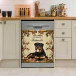 Life Is Better With Rottweiler Dishwasher Cover Sticker Kitchen Decor