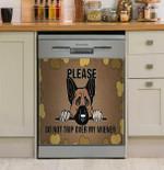 Please Do Not Trip Over My Wiener Dishwasher Cover Sticker Kitchen Decor