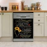 Paw Paw Gift For Granddaughter You Are My Sunshine Dishwasher Cover Sticker Kitchen Decor