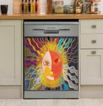 She Is The Sun Dishwasher Cover Sticker Kitchen Decor