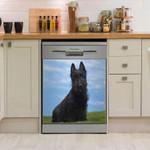 Scottish Terrier Dishwasher Cover Sticker Kitchen Decor