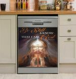 Pray Surrounded By Glory Dishwasher Cover Sticker Kitchen Decor