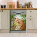 Pig Fame Dishwasher Cover Sticker Kitchen Decor