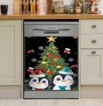 Penguin The Best Wishes Gift For You Dishwasher Cover Sticker Kitchen Decor