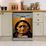 Native American Sitting Bull Dishwasher Cover Sticker Kitchen Decor