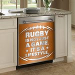 Rugby Is Not Just A Game Dishwasher Cover Sticker Kitchen Decor