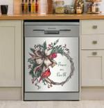 Seasonal Charm Dishwasher Cover Sticker Kitchen Decor