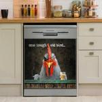 Rooster Chicken Dishwasher Cover Sticker Kitchen Decor