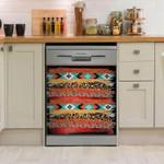 Native Color Pattern Dishwasher Cover Sticker Kitchen Decor