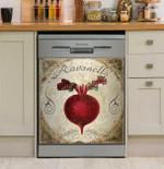 Ravanello Mangia Dishwasher Cover Sticker Kitchen Decor