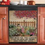 Lose My Mind Find My Soul Gardening Dishwasher Cover Sticker Kitchen Decor