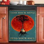 Lose Your Mind Find Your Soul Guitar Dishwasher Cover Sticker Kitchen Decor