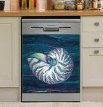 Shell Jewels Of The Sea Dishwasher Cover Sticker Kitchen Decor
