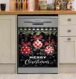 Farmhouse Pioneer Woman Christmas Dishwasher Cover Sticker Kitchen Decor