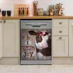 Heifer Cow Dishwasher Cover Sticker Kitchen Decor