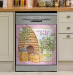 Friendship Is The Sweetest Dishwasher Cover Sticker Kitchen Decor