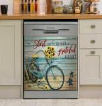 Grateful Heart Turtle Dishwasher Cover Sticker Kitchen Decor