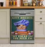 Kitty Biscuits Dishwasher Cover Sticker Kitchen Decor