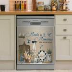 Hummingbird Meals And Memories Dishwasher Cover Sticker Kitchen Decor