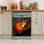 Guitar Electrical Dishwasher Cover Sticker Kitchen Decor