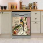 Humming Bird Exotic Dishwasher Cover Sticker Kitchen Decor