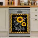 Hummingbird You Are My Sunshine Dishwasher Cover Sticker Kitchen Decor