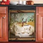 God Lion Be Still Dishwasher Cover Sticker Kitchen Decor
