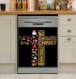 I Can Do All Things Through Christ Dishwasher Cover Sticker Kitchen Decor