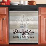 God Daughter Of The King Child Of God Dishwasher Cover Sticker Kitchen Decor