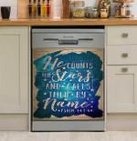 Jesus He Count The Stars Dishwasher Cover Sticker Kitchen Decor