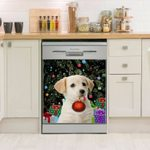 Labrador Colorful Bauble Dishwasher Cover Sticker Kitchen Decor