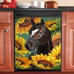 Horse You Are My Sunshine Dishwasher Cover Sticker Kitchen Decor
