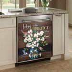 Hummingbird Today Is Perfect Day Dishwasher Cover Sticker Kitchen Decor