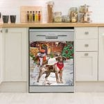 German Shorthaired Pointer Pattern Dishwasher Cover Sticker Kitchen Decor