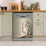 George Strait I Cross My Heart Dishwasher Cover Sticker Kitchen Decor