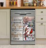 I Can No Longer See You With My Eyes But I Will Dishwasher Cover Sticker Kitchen Decor