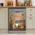 Kitchen Is The Heart Of Home Bird Dishwasher Cover Sticker Kitchen Decor