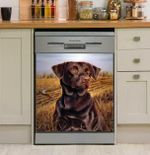Hunting Dog Hunting Season Dishwasher Cover Sticker Kitchen Decor