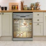 Jack Russell Facts Knowledge Dishwasher Cover Sticker Kitchen Decor